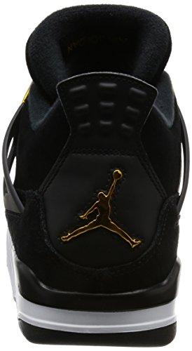 "Nike Air Jordan 4 Retro ""Royalty"" - Black/Metallic Gold-White Trainer Black"