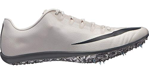 Nike Zoom 400 Track and Field Shoes (M9.5/W11, White/Grey)