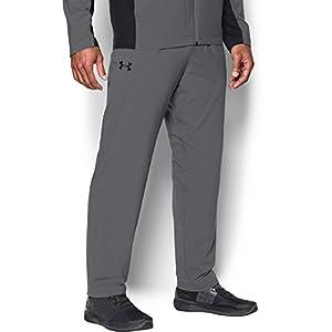 Under Armour Men's Lined Warm-Up Pants,Graphite/Black, Large