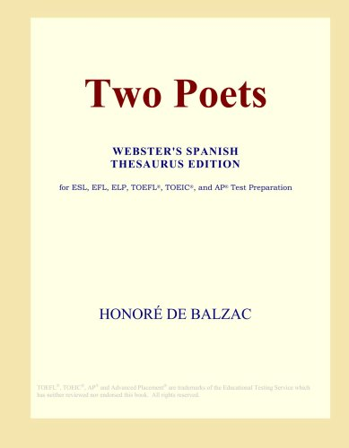 Two Poets (Webster's Spanish Thesaurus Edition) pdf