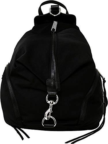 Rebecca Minkoff Women's Nylon Julian Backpack, Black, One -