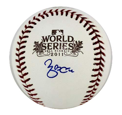 Yadier Molina Autographed/Signed St Louis Cardinals Rawlings 2011 World Series MLB Baseball