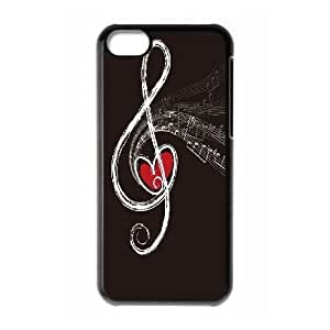 music Custom Plastic Case for iPhone 5C by Nickcase