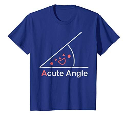 Kids Acute Angle T-Shirt 10 Royal Blue ()