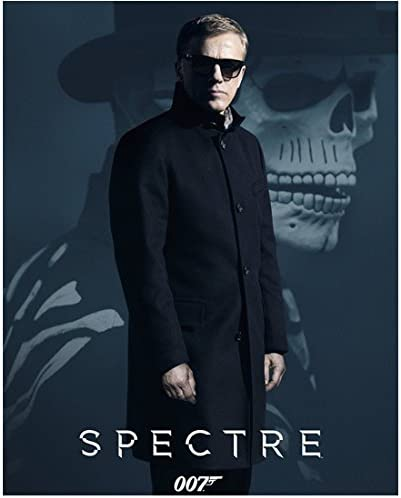 Spectre 2015 8 Inch X 10 Inch Photo Daniel Craig In Sunglasses Overcoat In Front Of Skeleton Title At Bottom Kn At Amazon S Entertainment Collectibles Store