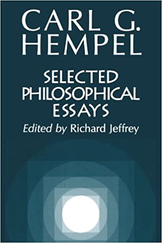com selected philosophical essays carl g selected philosophical essays 1st edition