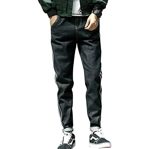 Ssige Colore Cadono Di Ricamati Classiche Nuova Coreana Studenti Versione Solido Sottile Gioventù Pantaloni Del Men Jeans Colour Dei Ragazzi tBqP7qdw