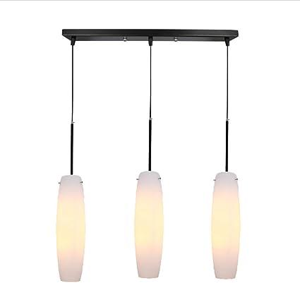 Amazon.com: LgoodL - Lámpara de techo de cristal nórdico ...