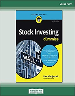 Stock Investing For Dummies, 5th Edition: [Large Print 16 pt