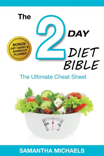 2 day diet ultimate cheat sheet with diet diary workout planner