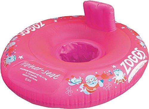 Zoggy Schwimmbad Wassersport Turnschuhe Aufblasbar Babies Schwimm Sitz Paket Of 4
