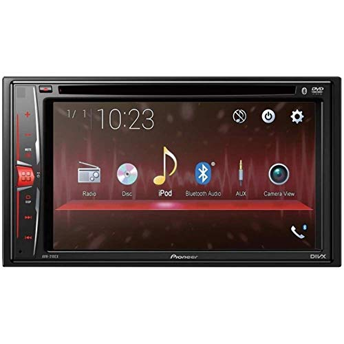 """Pioneer AVH-210EX in-Dash 2-DIN 6.2"""" Touchscreen DVD Receiver with Bluetooth (Renewed)"""