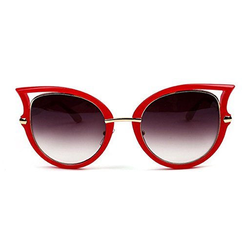 Aoligei Européens et américains de lunettes de soleil personnalité de marée lunettes de soleil femme européenne et américaine rue battant fashion A