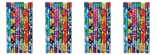 Geddes Cyber Cyclone Pencil Assortment - Set of 144 (Fоur Paсk, Cyber Cyclone Pencil Assortment) by Raymond Geddes (Image #2)