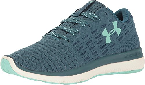 Under Armour Women's UA Threadborne Slingflex Marlin Blue/White/Crystal Athletic Shoe ()