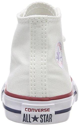 Converse Bianco Bianco para tela Zapatillas de niños 7w7qTF