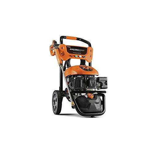 Generac Gas Pressure Washer 3100 PSI 2.5 GPM Lithium-Ion Electric Start with...