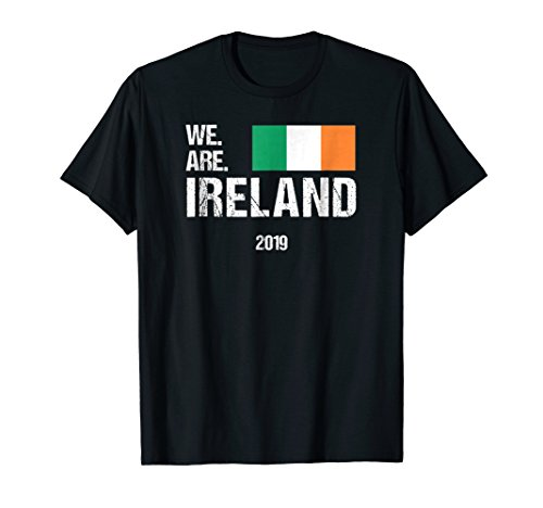 Rugby World Cup T-shirts - We Are Ireland, World Rugby Team T-shirt 2019