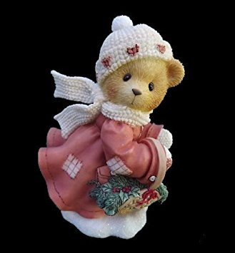 Cherished Teddies Shirley 1999 Limited Edition Release Christmas Figurine - These Are the Best Kind of Days