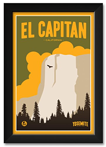 Northwest Art Mall El Capitan, Yosemite National Park Framed Art Print by Matt Brass. Print Size: 12