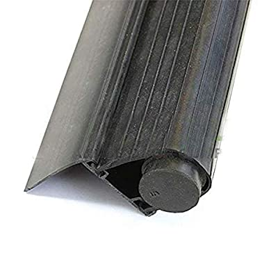 "Garage Door Super Bottom Weather Seal with Aluminum Retainer T Style. Length: 12 Foot, Retainer: 2"""