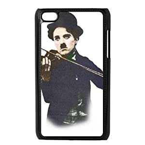 iPod Touch 4 Phone Cases Black Chaplin BGU280154