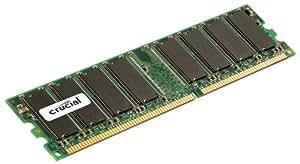 2GB, 184-pin DIMM, DDR PC3200 Memory Module - CT25672Y40B