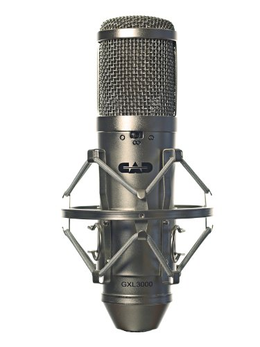 CAD Audio GXL3000 Large Diaphragm Multi-Pattern Condenser Microphone