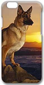 German Shepherd Apple iPhone 6 Case, 3D iPhone 6 Cases Hard Shell Cover Skin Casess
