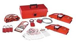 Master Lock Personal Lockout Toolbox Kit, Includes 3 Aluminum Padlocks