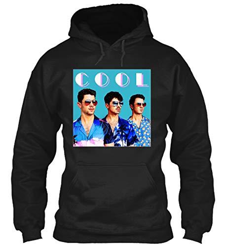Cool-Jonas Brothers Sweatshirt|Hoodie Black