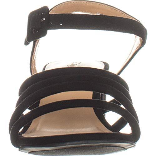 Gladys Soho Femmes Black Zigi Sandales Compensées vqE7w