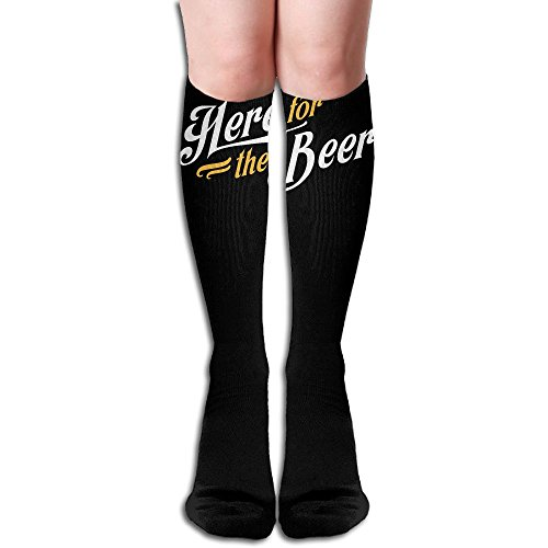 Women's Over Knee Thigh High Stocking Here For The Beer Winter Warm Sexy Stocks Knitting -