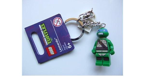 LEGO Teenage Mutant Ninja Turtles: Leonardo Llavero: Amazon ...