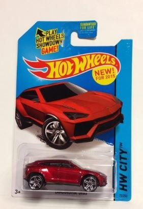 Hot Wheels Lamborghini Urus (ROT) (ROT) (ROT) (23/250) by Hot Wheels acba3e