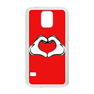 Samsung Galaxy S5 Cell Phone Case White Mickey Mouse gvx