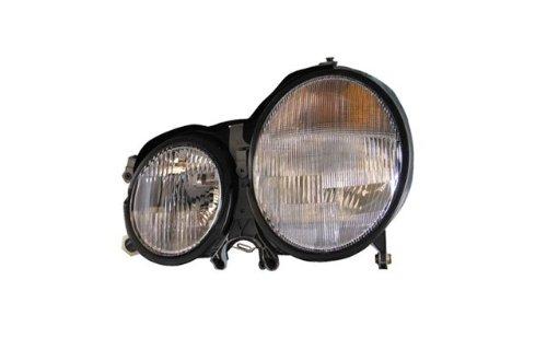 Mercedes E Class Replacement Headlight Assembly (Halogen) - 1-Pair