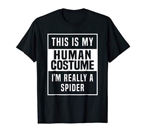 Spider Costume Shirt funny halloween