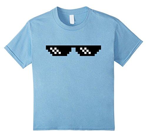 Kids Deal with it dank emoji T-Shirt pixel sunglasses 8 Baby - Glasses Dank