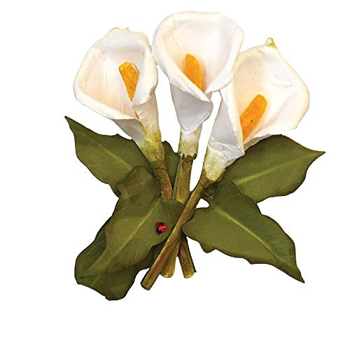 Calla Lily Metal Cutting Dies Stencils for DIY Scrapbooking Craft Paper Cards Decorations Making New 2019 Diecut (Chair Calla)