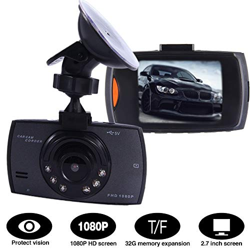 New 2.4 Inch Full HD 1080P Car DVR Video Recorder Support Night Vision Dash Cam Camera G-Sensor with LCD Screen