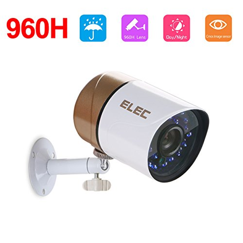 ELEC 960H 1200TVL NTSC Home Surveillance CCTV Bullet Securit