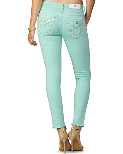 mint colored jeans - 3