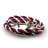 spyman Anchor Bracelets Vintage Retro Bracelets Fashion Jewelry Bracelet Men for Women Best Gift Tom Hope