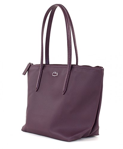 Lacoste NF0946PO - Shopper para mujer Fig (Lila)