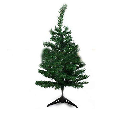 Happy-shoP 2FT Artificial Table Top Christmas Pine Tree Green Mini Small Xmas Tree Tabletop