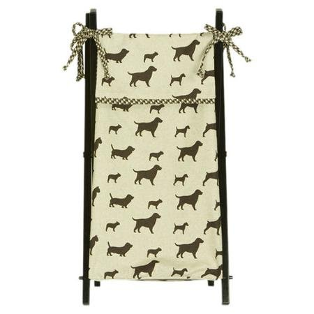 Cotton Tale Houndstooth Hamper