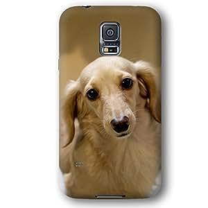 Longhair Dachshund Dog Puppy Samsung Galaxy S5 Slim Phone Case