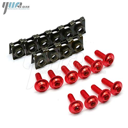 10 Pieces 6mm Motorcycle Body Screws for Suzuki rm for sale  Delivered anywhere in Canada