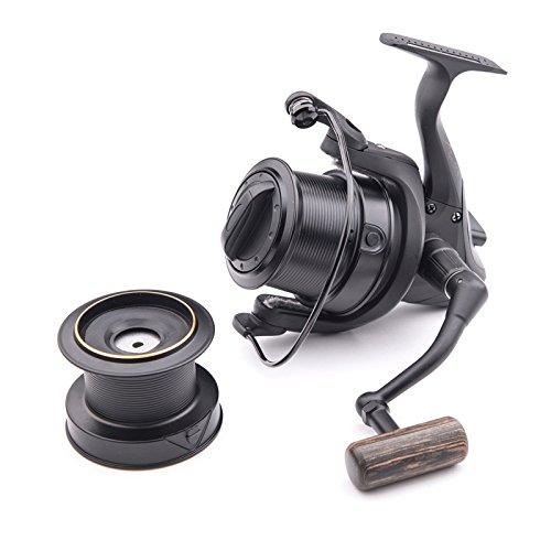 Wychwood Riot Big Pit 65S Carp Fishing Reel 5+1 Bearing 5:1 Retrieve Ratio with Spare Spool